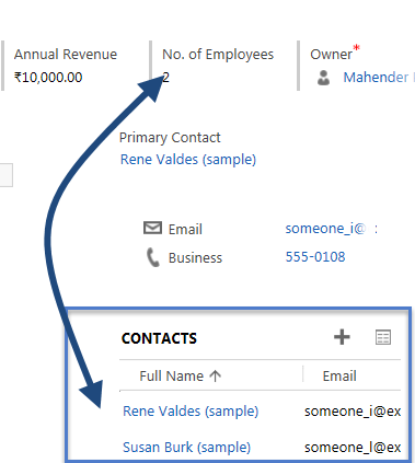 Writing retrievemultiple request using Web API | HIMBAP