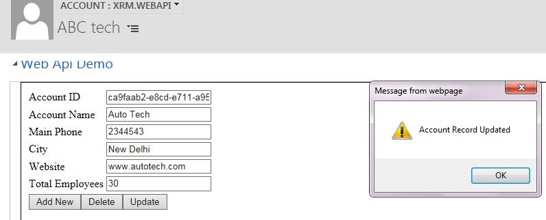Using Xrm WebApi in Dynamics 365/CRM   HIMBAP