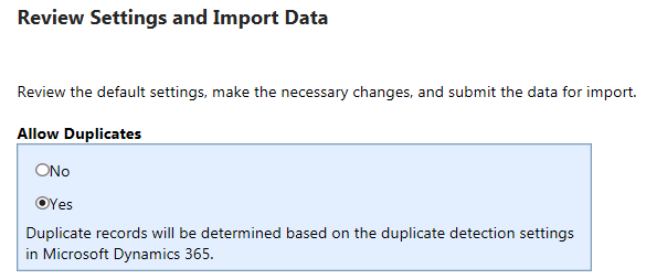 Implementing Duplicate Detection using Keys | HIMBAP
