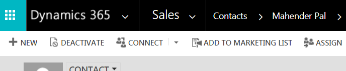 Dynamics 365 App Specific URL for your entity | HIMBAP