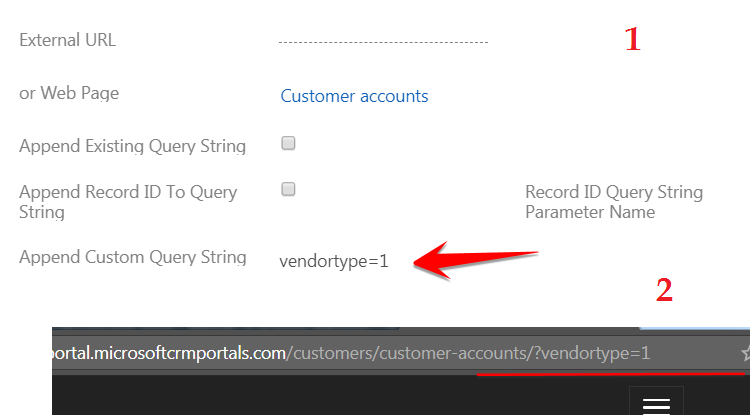 Page Redirect options in entity form Dynamics 365 Portals | HIMBAP